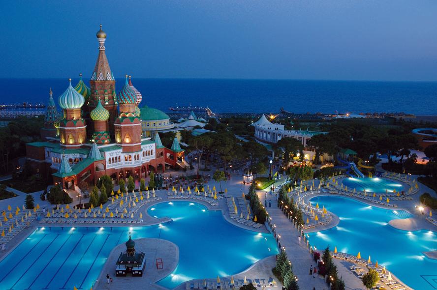 Wow Kremlin Palace Antalya Otel Holiday Travel In Turkey